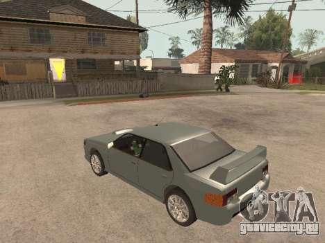 Sultan Impreza v1.0 для GTA San Andreas вид справа