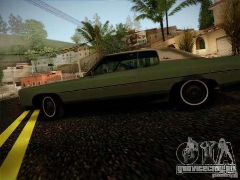 Chevrolet Impala 1972 для GTA San Andreas вид слева
