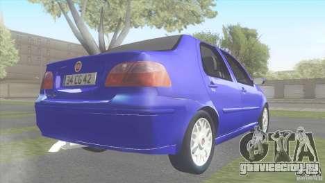 Fiat Albea Sole для GTA San Andreas вид слева