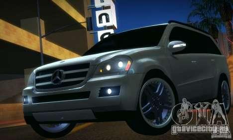 Mercedes-Benz GL500 V.2 для GTA San Andreas вид сзади слева