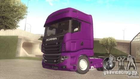 Scania Euro 5 R700 V8 для GTA San Andreas