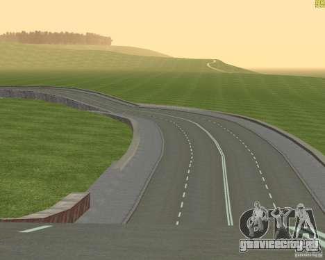 Достроенная дорога для  Криминальной России для GTA San Andreas четвёртый скриншот