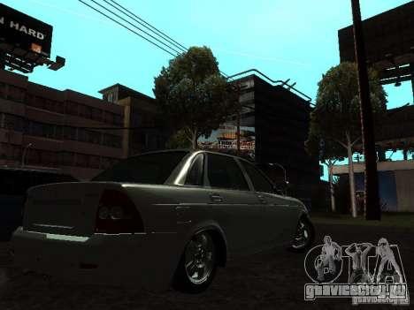 Lada 2170 Priora для GTA San Andreas вид слева