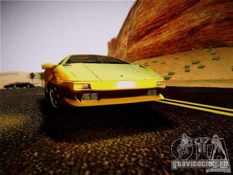 Lamborghini Diablo VT 1994 для GTA San Andreas вид сзади