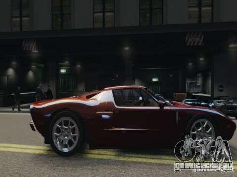 Ford GT для GTA 4 вид слева