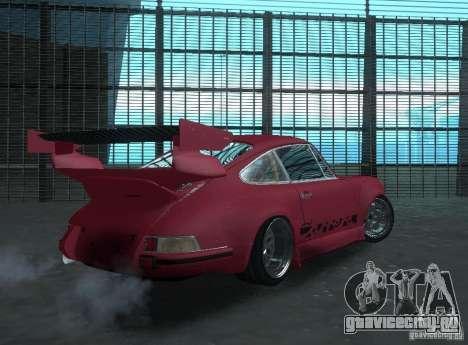 Porsche Carrera RS RWB для GTA San Andreas вид справа