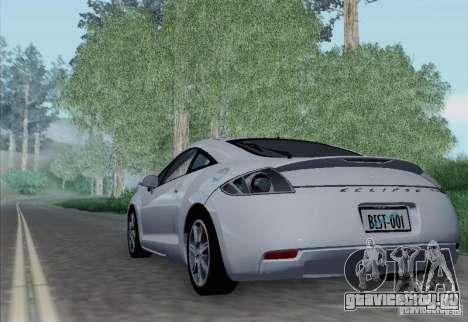 Mitsubishi Eclipse GT V6 для GTA San Andreas вид справа