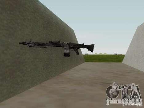 Пулемет MG-42 для GTA San Andreas пятый скриншот