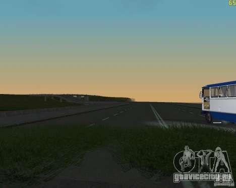 Достроенная дорога для  Криминальной России для GTA San Andreas второй скриншот