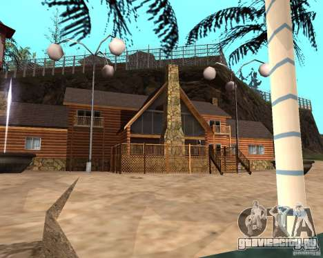 Вилла в Рыбацкой лагуне для GTA San Andreas шестой скриншот