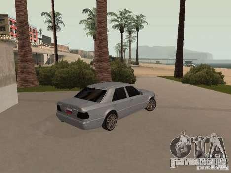 Mercedes-Benz E420 AMG для GTA San Andreas вид изнутри