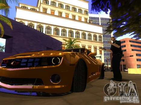 Chevrolet Camaro SSX V1.1 для GTA San Andreas вид слева