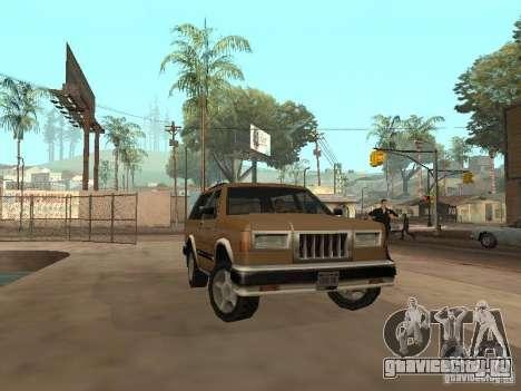 Новый Landstalker для GTA San Andreas вид сбоку