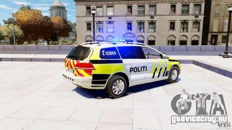 Volkswagen Passat B7 Variant 2012 для GTA 4 вид слева