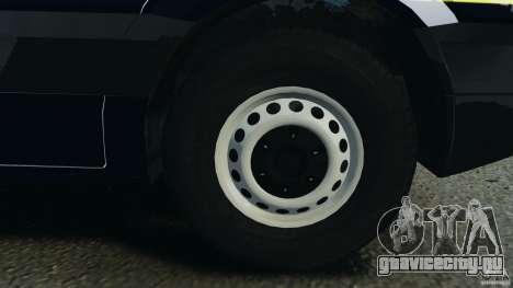Mercedes-Benz Sprinter Police [ELS] для GTA 4 вид сверху