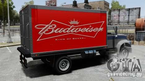 Новая реклама для грузовика Yankee для GTA 4 вид справа