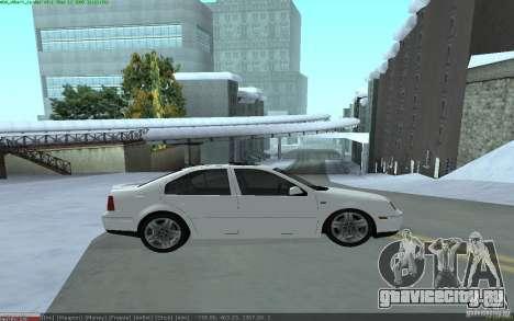 Volkswagen Bora 1.8 для GTA San Andreas вид слева