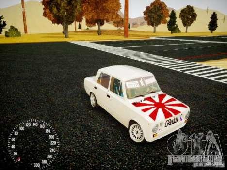 ВАЗ-2101 Drift Edition для GTA 4 вид сбоку