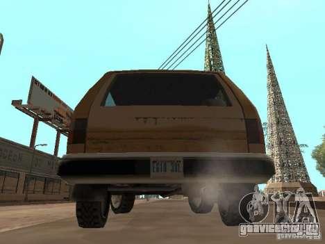 Новый Landstalker для GTA San Andreas вид справа