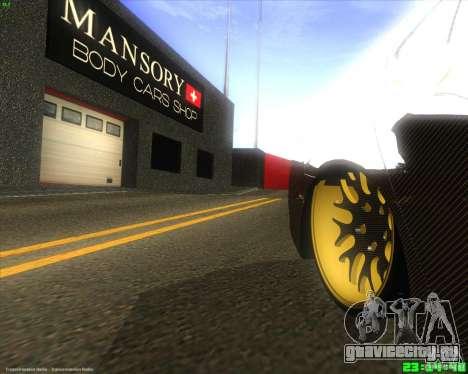 Honda Accord Mansory для GTA San Andreas вид сзади
