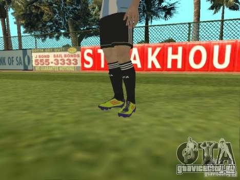 Lionel Messi для GTA San Andreas пятый скриншот
