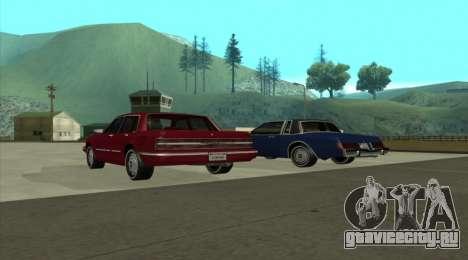 New Majestic для GTA San Andreas вид слева