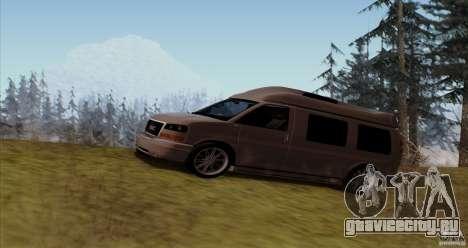 GMC Savana AWD для GTA San Andreas вид слева