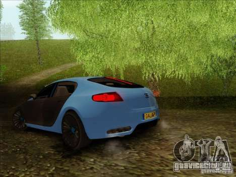 Bugatti Galibier 16c для GTA San Andreas вид справа