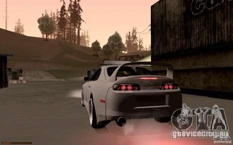 Toyota Supra D1 1998 для GTA San Andreas вид сзади слева