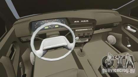 ВАЗ-2114 для GTA 4 вид сбоку