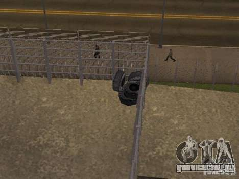Автобусный парк версия V1.2 для GTA San Andreas третий скриншот