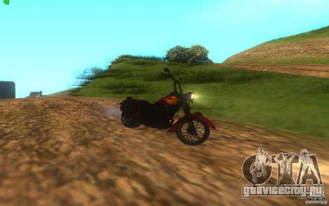 Motorcycle from Mercenaries 2 для GTA San Andreas