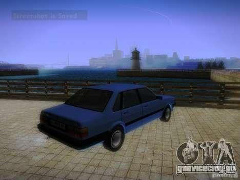 Audi 80 1987 V1.0 для GTA San Andreas вид справа