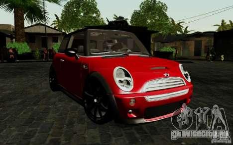 Mini Cooper S Tuned для GTA San Andreas вид слева