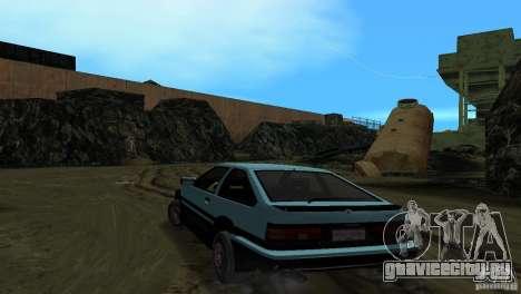Toyota Trueno Sprinter для GTA Vice City вид слева