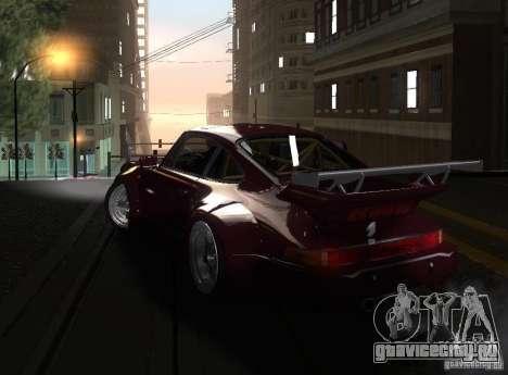 Porsche 911 Turbo RWB для GTA San Andreas вид слева