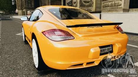 Porsche Cayman R 2012 [RIV] для GTA 4 вид сзади слева