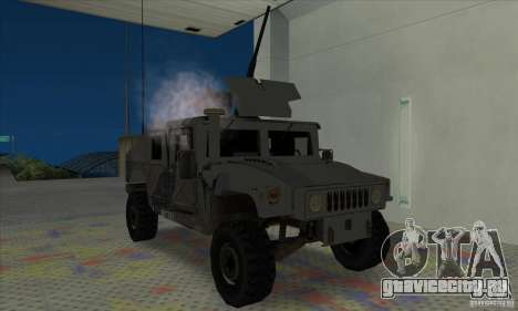 Humvee of Mexican Army для GTA San Andreas вид слева