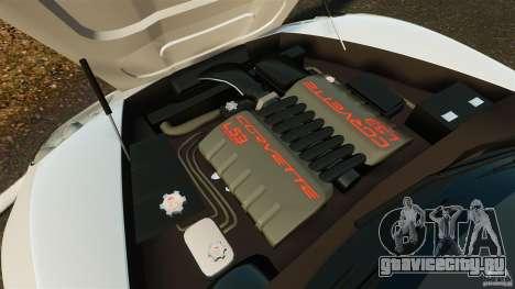 Chevrolet Corvette C6 2010 Convertible для GTA 4 вид изнутри