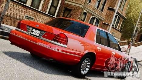Ford Crown Victoria Civil 2006 для GTA 4 вид слева