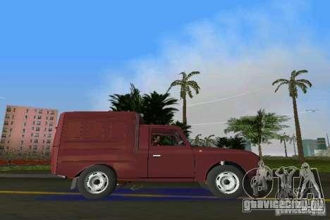 ИЖ 2715 для GTA Vice City вид сзади слева