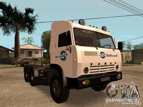 КамАЗ 5410 для GTA San Andreas двигатель