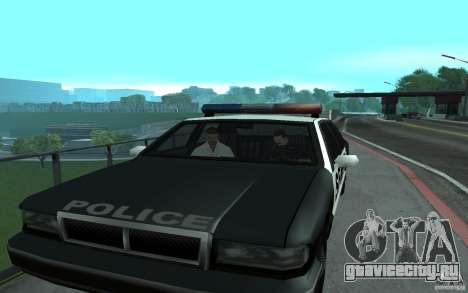 Police на мосту Сан-Фиерро для GTA San Andreas четвёртый скриншот