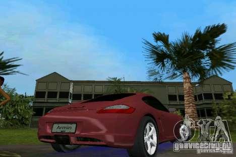 Porsche Cayman для GTA Vice City