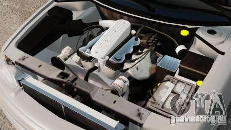 Dodge Intrepid 1993 Civil для GTA 4 вид изнутри