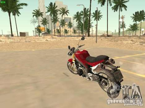 Bike Triumph для GTA San Andreas вид слева