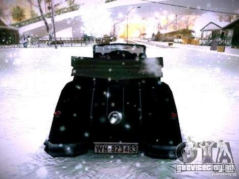 Авто из игры В тылу врага 2 для GTA San Andreas вид сзади слева