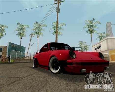 Porsche 911 Turbo для GTA San Andreas вид слева
