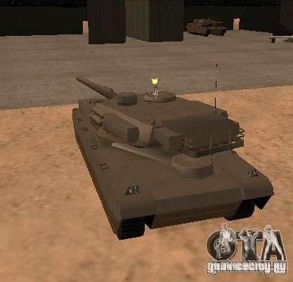 Миниган на танке для GTA San Andreas второй скриншот