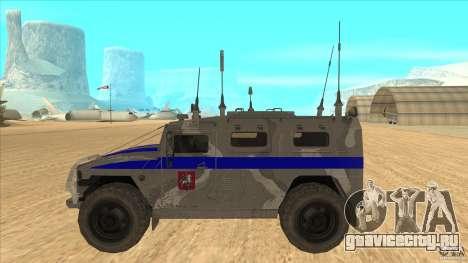 ГАЗ-23034 СПМ-1 Тигр для GTA San Andreas вид слева
